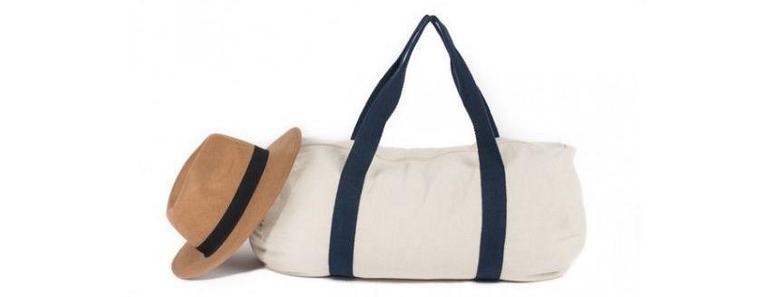 sac de sport coton écru personnalisable objet publicitaire